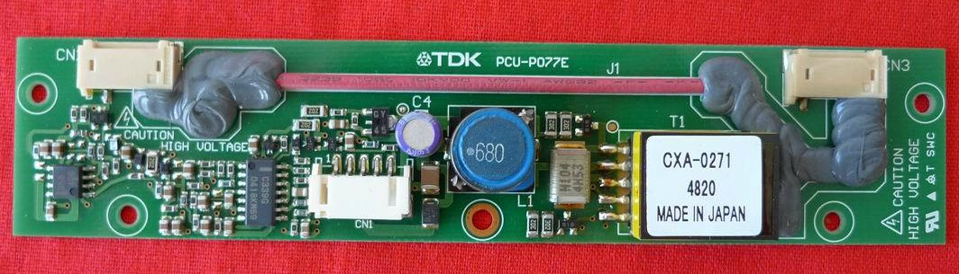 TDK CXA-0271 PCU-P077E Backlight inverter New original