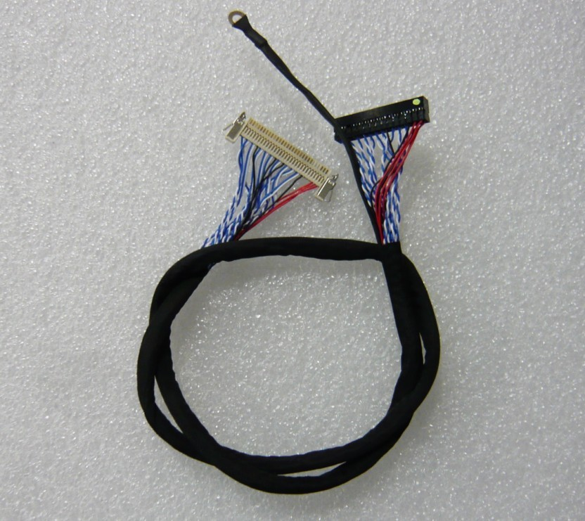 FI-X30H-S8 400mm LCD LVDS Cable with Lock Ground
