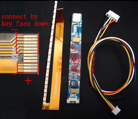 "15"" widescreen Notebook LCD update to LED kits 335mm LED strip"